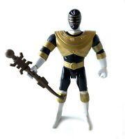 Gold Ranger Vintage Power Rangers Zeo Action Figure Complete w/ Staff 1996 Banda