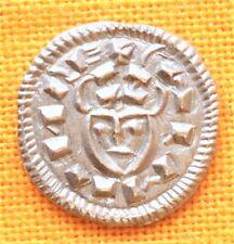 Medieval Silver Coin - Arpad Dynasty - Coloman Sigla Denar 1131 - 1141.