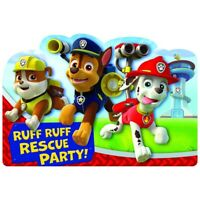PAW PATROL INVITATIONS PACK OF 8 PARTY INVITES