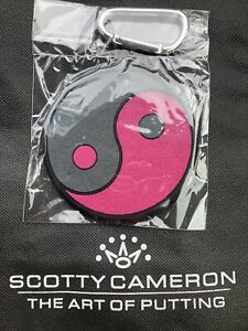 🔥 Scotty Cameron YING YANG Pink Black Putting Disc GALLERY Exclusive  NEW