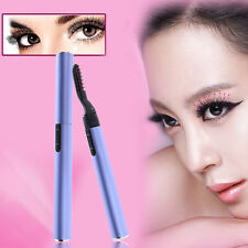 Women Aluminum Electronic Eyelash Curler Heated Eye Lashes Long Lasting Curler