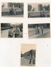 8 x foto, i.r.78 Paderborn, salida en Lippspringe 1937, (n) 19823