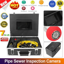 7inch Inspection Camera Pipe Inspection Sewer LCD& DVR Video Waterproof 1000TVL