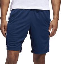 adidas 4KRFT Sport Heather 3 Stripe Mens Training Shorts - Blue