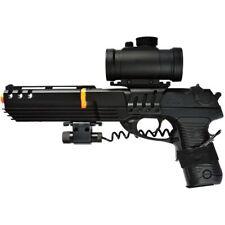 DOUBLE EAGLE KS-91 DELTA FORCE AIRSOFT SPRING PISTOL GUN w/ BB LASER SIGHT SCOPE