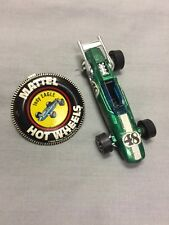 Hot Wheels Red Line Mattell 1969 Indy Eagle Missing Wheel with Button Pin Clip