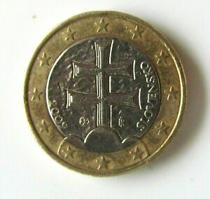PIECE 1 EURO SLOVENSKO, SLOVAQUIE de 2009