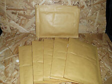 10 Luftpolstertaschen 17,5 cm x 12,0 cm A/1 Versand Kuverts hellbraun Verpackung