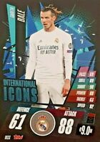 MATCH Attax  20/21 - 2020/2021 Gareth Bale Real Madrid Int . ICON