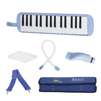 32 Key Melodica Keyboard Harmonica in Case for Music Lovers Beginners Gift