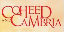 Coheed and Cambria Good Apollo...RARE promo sticker '05