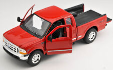 Blitz envío ford f-350 pick up rojo/red Welly modelo auto 1:24 nuevo & OVP