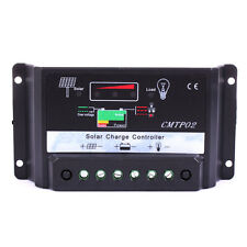30A MPPT Solar Panel Battery Regulator Charge Controller 12V-24V Auto Switch #A