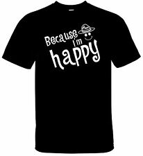 Because I'm Happy Pharrell Williams Hat Black - White tee t-shirt Despicable 2