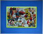 DEFENDERS Pin up Poster 1978 Marvel MATTED & Frame Ready