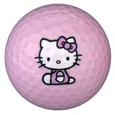 New Hello Kitty The Collection Golf Ball - 6 Balls/pack - Pink