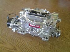 Edelbrock carburetor with live video testing 600 CFM  E choke #1406