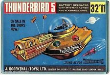 60's NOSTALGIA -THUNDERBIRDS - TV21 COMIC TB5 TOY ADVERT - JUMBO FRIDGE MAGNET