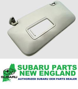 Genuine OEM Subaru 09-13 Forester Drivers LH Sun Visor Shade 92011SC033LO