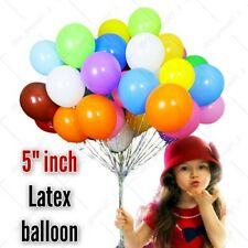 """5"""" Latex Plain Combination Balloons Halloween Fathers day Birthday party Ballons"""