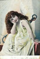 Beautiful - Angel Vintage Postcard - 03.45