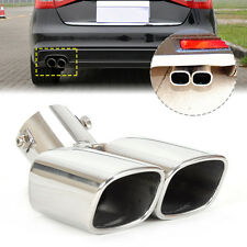 Hot Sale CURVED Exhaust Tailpipe Tail Pipe Rear Muffler End Trim  58mm Universal