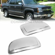 Chrome Door Mirror Cover For 99-06 Silverado Avalanche Tahoe GMC Sierra Yukon