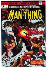 MAN-THING #11 (VF) Mike Ploog Cover & Interior Art! FOOLKILLER Cameo 1974 Marvel