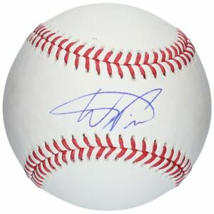 WANDER FRANCO Autographed Tampa Bay Rays Official Baseball FANATICS