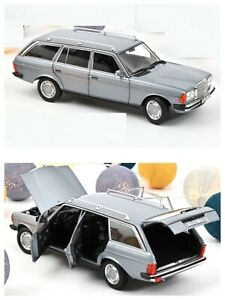 1/18 NOREV Mercedes-Benz 200 T 1982 Silverblue Limited 300Ex Shipping Home