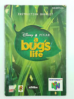 Notice jeu N64 1001 Pattes A bug's Life Nintendo 64 Livret Instruction Manuel
