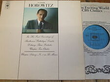 CBS 72180 Beethoven 'Pathetique' Sonata etc. / Horovitz