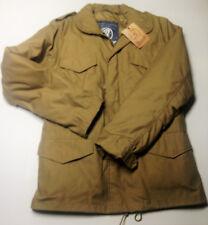 US Feldjacke M65 Vintage , Schimanski , khaki , mit Ausknöpffutter und Kapuze