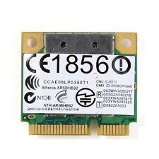 Atheros AR9280 AR5BHB92 Half Mini Wi-Fi inalámbrica Dell Dw1515 tarjeta de doble banda 300 M