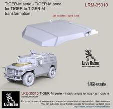 Live Resin 1/35 LRE-35310 TIGER-M Series - TIGER-M Hood (for TIGER to TIGER-M)