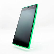 NOKIA LUMIA 730 DUAL SIM verde senza blocco SIM Cellulare condizioni molto buone