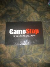 Game Stop * Used Collectible Gift Card NO VALUE * SV1502463 Bent Slightly