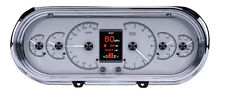 1963-65 Chevrolet Nova Chevy II Dakota Digital SILVER Alloy HDX Custom Gauge Kit