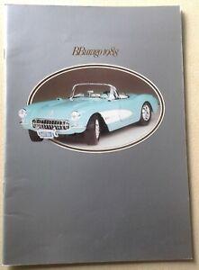 Catalogue Burago 1988 48 pages (29,5 x 21 cms) papier glacé