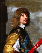 ALGERNON PERCY LORD HIGH ADMIRAL OF ENGLAND PORTRAIT PAINTING ART CANVAS PRINT