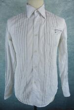 G STAR RAW Chemise Homme Taille M - Blanche - Manches longues