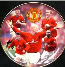 MANCHESTER UNITED DANBURY MINT COLLECTOR PLATES