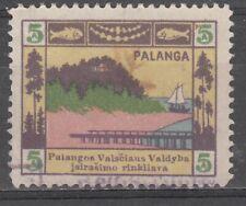 Lithuania Local Revenue stamp PALANGA 5 A  c 1922
