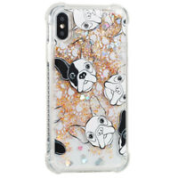 Cute Quicksand Glitter Liquid Dynamic Flowing Case Cover Anti Fall with Pattern3