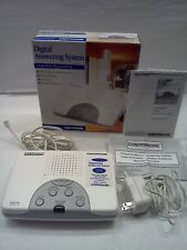 Conair phone Digital Answering System White #TAD1212W White NEW IN BOX Telephone