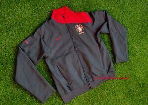 PORTUGAL NATIONAL TEAM FOOTBALL SOCCER JACKET COAT TRAINING NIKE RED MEN S