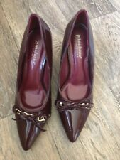 Primadonna COLLECTION. BORDEAUX paziente stillettos Décolleté 37 U.K. 4.5 Catena