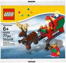 LEGO #40059 SANTA'S SLEIGH CHRISTMAS RARE RETIRED NEW LA008