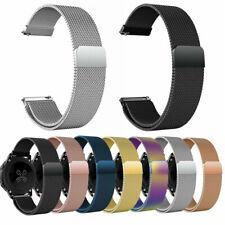Stainless Steel Milanese Watch Band Strap Bracelet For Samsung Garmin HUAWEI