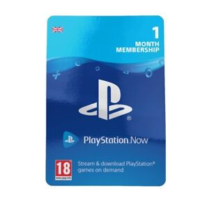 PlayStation Now 1 Month Subscription - PS NOW UK Codes